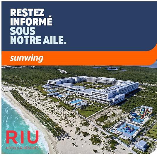 Sunwing présente un webinaire sur les hôtels RIU