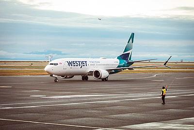 Reprise du service des appareils 737 MAX de WestJet