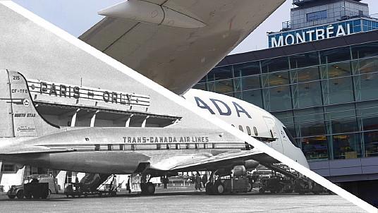 Air Canada fête le 70e anniversaire de sa ligne Montréal–Paris