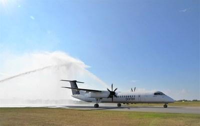 L'Aéroport Billy Bishop de Toronto célèbre la relance du service commercial