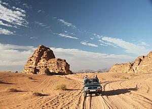 Le Wadi Rum est le désert qu'on voit dans le film Lawrence d'Arabie.