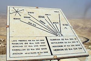 Le Mont Nebo est l'un des nombreux sites de pèlerinage en Jordanie