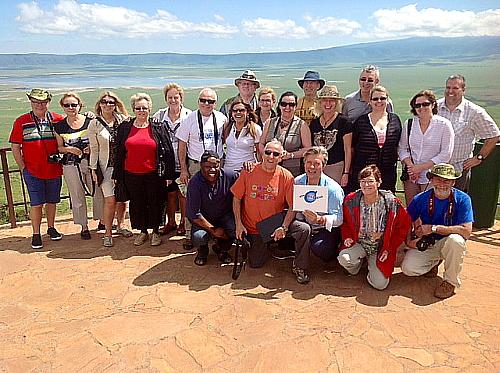 Au cratère du Ngorongoro