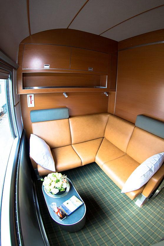 La nouvelle classe Prestige du Canadien: transformation de la cabine pour la journée