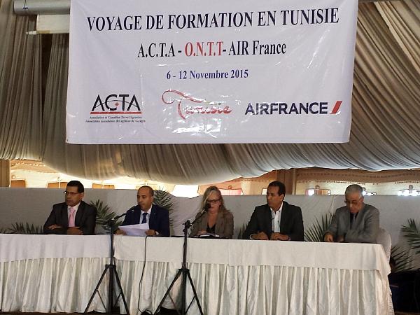 ACTA en collaboration avec l'Office National du Tourisme tunisien et Air France se sont rendus en Tunisie du 6 au 12 novembre 2015. (Arrêt sur image )