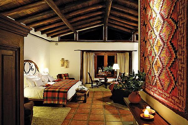 Chambre à l' Inkaterra Machu Picchu Pueblo Hotel.  Crédit photo: Inkaterra