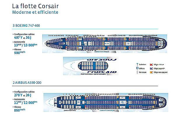 J 39 ai mon voyage md for Plan de cabine boeing 747 400 corsair