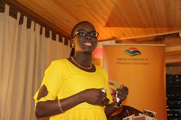 Seynabou Ndiaye, responsable de la recherche pour L'Agence sénégalaise de promotion du tourisme