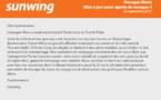 Sunwing : mise à jour 4 concernant l'ouragan Maria