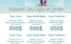 Caribe Sol : Aubaines des Cayos en janvier !